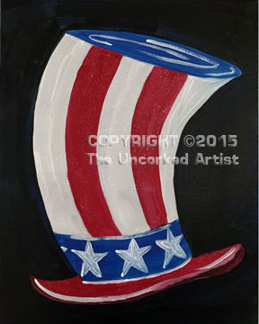 Uncle Sams Hat (#363) • Created by Susan • 11×14 • Tier 2