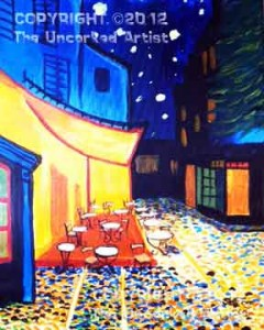 Van Gogh Cafe Terrace At Night (#283) • Created by Steffi • 16x20 • Tier 5