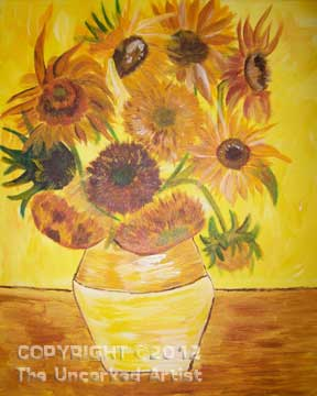 Van Gogh Sunflowers (#266) • Created by Trish • 16x20 • Tier 4