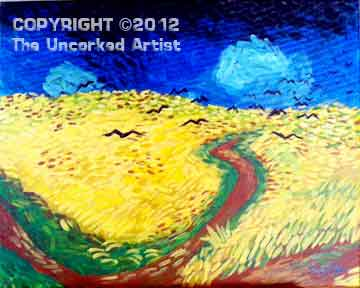 Van Gogh Wheat Fields With Crows (#224) • Created by Steffi • 16x20 • Tier 3