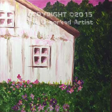 Summer Cottage (#091) • Created by Jenn • 12x12 • Tier 3