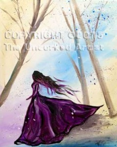 Romantic Dreamer (#085) • Created by Steffi • Special Thanks to Kelly Doak, www.sippingnpaintinghigh