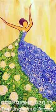 Seasoned Dancer Summer (#081) • Created by Michelle • 10x20 canvas • Tier 3