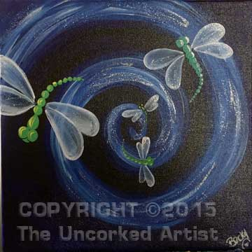 Dragonflies (#291) • Created by Rebecca • 12x12 • Tier 3