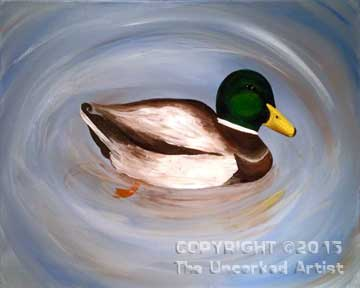 Mallard (#296) • Created by Rebecca • 16x20 • Tier 3