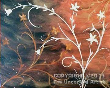Orange Bouquet (#294) • Created by Jamie • Special Thanks to Kelly Doak • 16x20 • Tier 3