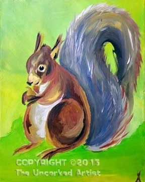 Squirrel (#297) • Created by Trish • 11x14 • Tier 3