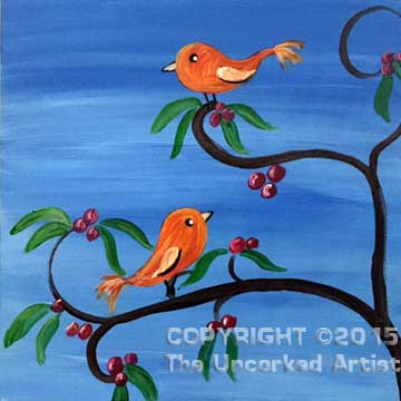 Whimsy Birds (#298) • Created by Susan • 12x12 • Tier 3