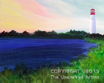 Cape May Lighthouse (#335) • Created by Crystal • 16x20 • Tier 3