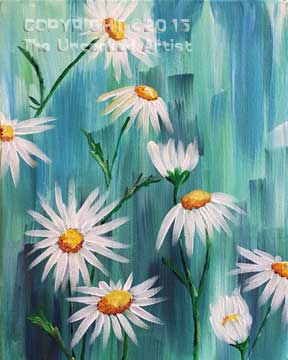 It's Raining Daisies (#310) • Created by Susan • 11×14 • Tier 3
