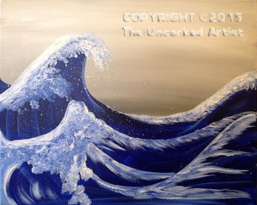 Edo Wave (#315) • Created by Rebecca • 16×20 • Tier 3