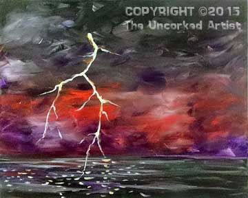 Lightning Strike (#317) • Created by Steffi • 16×20 • Tier 3