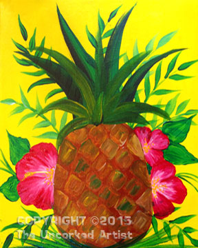 Pineapple (#312) • Created by Rebecca • 11×14 • Tier 3