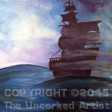 Ghost Ship (#329) • Created by Michelle • 12×12 • Tier 3