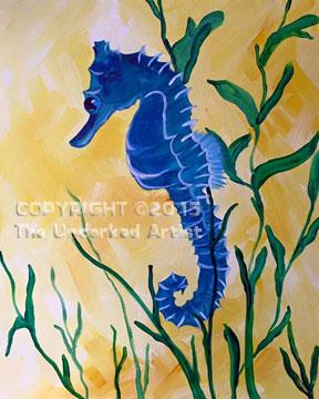 Seahorse (#325) • Created by Susan • 16×20 • Tier 3