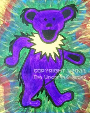 Dancing Bear (#349) • Created by Erin • 11×14 • Tier 3