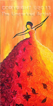 Seasoned Dancer Autumn (#342) • Created by Michelle • 10×20 • Tier 3