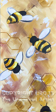 Bumblebees (#356) • Created by Susan • 10×20 • Tier 3