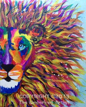 Lion King (#365) • Created by Rebecca • 16×20 • Tier 3