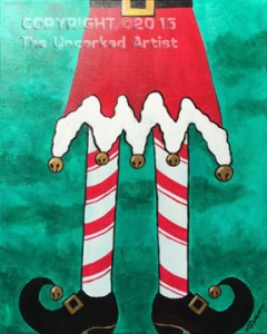 Elf Legs (#367) • Created by Michelle • 16×20 • Tier 3