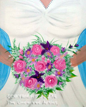 Here Comes The Bride (#382) • Created by Rebecca • 16×20 • Tier 3