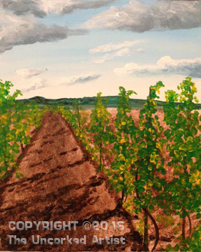 Sand Castle Vineyard Road (#378) • Created by Rebecca • 16×20 • Tier 3