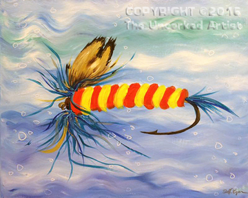 Fly Fishing (#391) • Created by Steffi • 16×20 • Tier 3