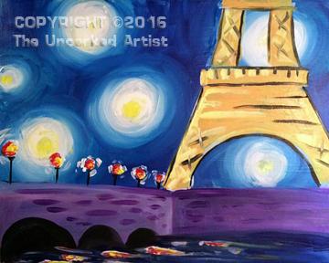 Gogh To Paris (#400) • Created by Liz • 16×20 • Tier 3
