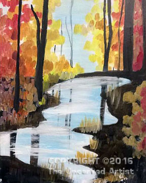 Hidden Pond (#394) • Created by Sarah • 16×20 • Tier 3