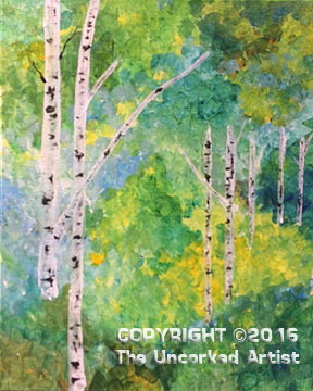 Spring Birch (#389) • Created by Crystal • 16×20 • Tier 3