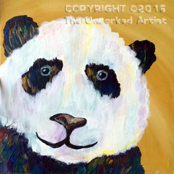 Panda Bear (#396) • Created by Sarah • 12×12 • Tier 3
