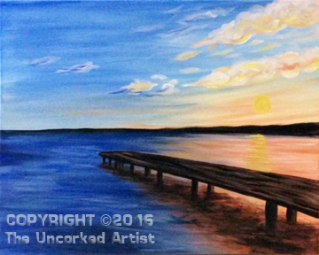 Dock On The Bay (#418) • Created by Michelle • 16×20 • Tier 3