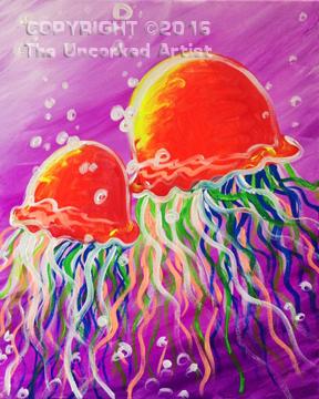 Jellyfish (#415) • Created by Steffi • 16×20 • Tier 3