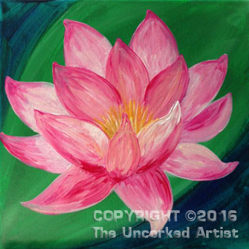 Lotus Flower (#404) • Created by Rebecca • 12×12 • Tier 3