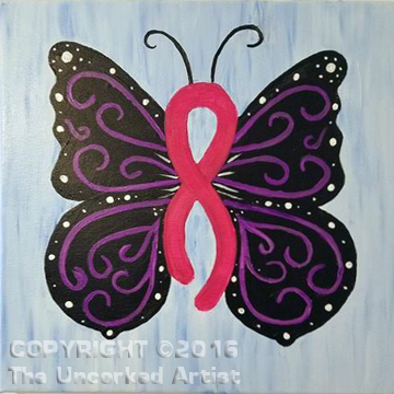 Ribbon Butterfly (#416) • Created by Tish • 12×12 • Tier 3
