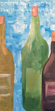 Bottles of Wine (#409) • Created by Crystal • 10×20 • Tier 3