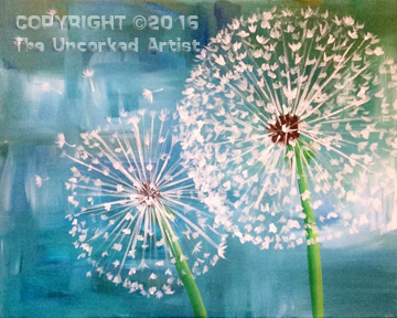 Dandelions (#410) • Created by Crystal • 16×20 • Tier 3