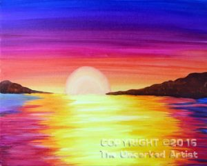 Sunrise, Sunset (#429) • Created by Crystal • 16×20 • Tier 3