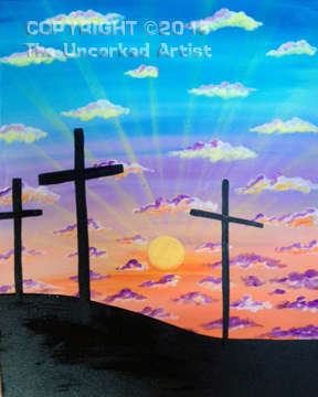 Calvary (#444) • Created by Becky • 16×20 • Tier 3
