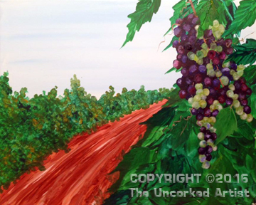 Grape Path (#455) • Created by Rebecca • 16×20 • Tier 3