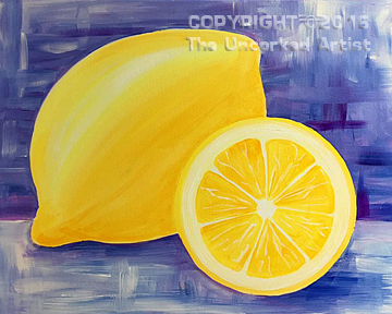 Lemon Squeeze (#443) • Created by Susan • 16×20 • Tier 3