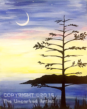 Lone Tree (#447) • Created by Jenn • 16×20 • Tier 3