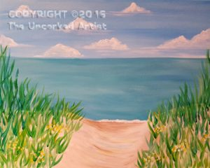 Ocean View (#452) • Created by Jamie • 16×20 • Tier 3