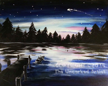 Shooting Star (#451) • Created by Liz • 16×20 • Tier 3