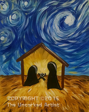 Starry Manger (#465) • Created by Erin • 16×20 • Tier 3