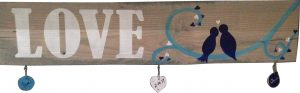 $50 Fresh Wood Plank • Love with hanging chips • 5