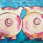 Barnyard Butties - Pigs (#472) • Created by Susan • 12×12 • Tier 3