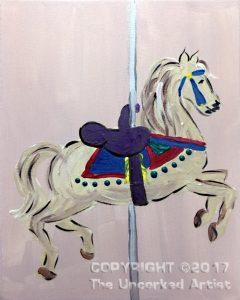 Carousel Horse (#470) • Created by Tara • 11×14 • Tier 3