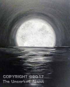 Glitter Moon (#476) • Created by Mandy • 16×20 • Tier 3