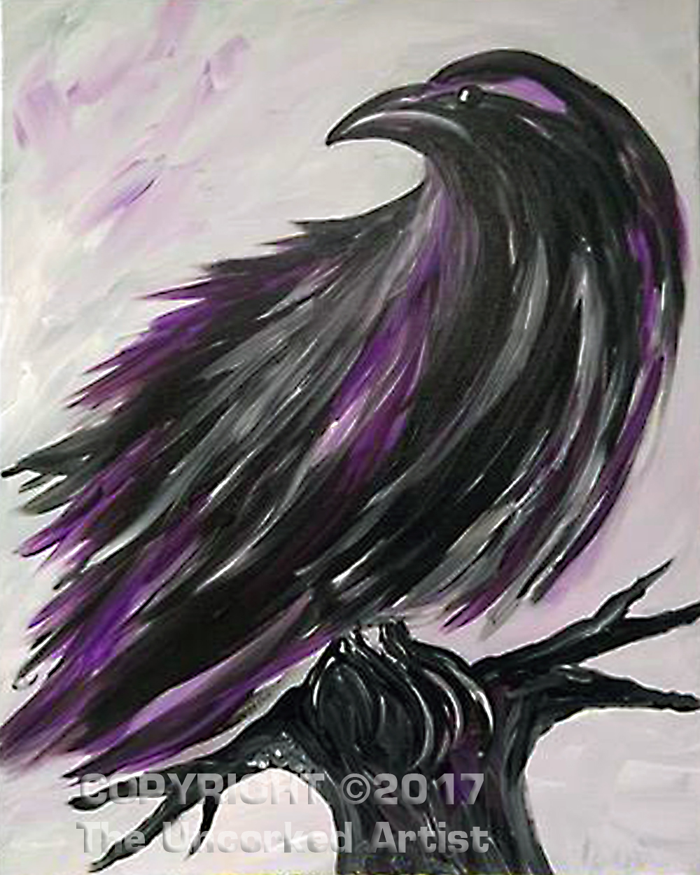 The Raven (#438) • Created by Mandy • 16×20 • Tier 3